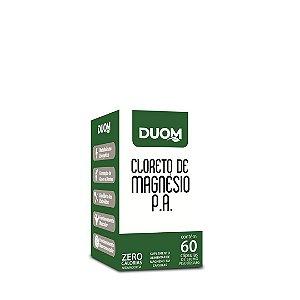 Cloreto de Magnésio P.A. 60 cápsulas Duom