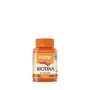 Biotina 60 Cápsulas Duom