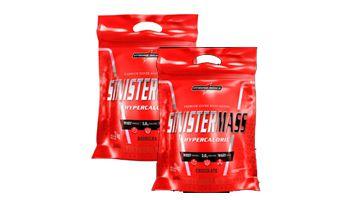 Combo Sinistermass  2 und (3kg) - Integralmedica - 1 choc/1 Baun