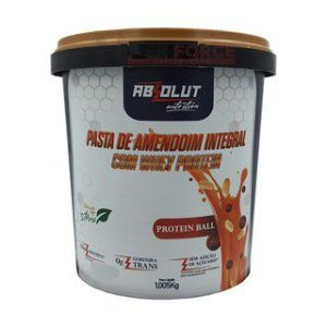 Pasta de Amendoim 1kg Absolut Nutrition