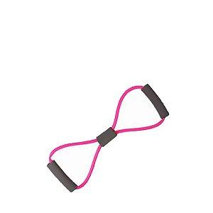 Extensor Elástico em 8 Tensão Média Rosa Rope Store
