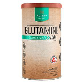 Glutamina Isolada Nutrify 500g Vegana