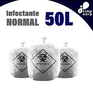 Saco para lixo infectante - Normal - 50 Litros - 100 unidades