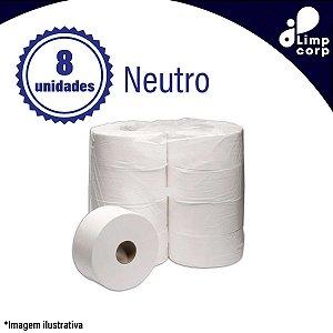 Papel higiênico - 8x300 - neutro