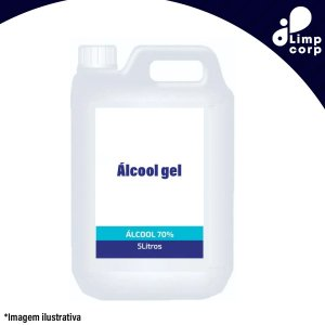 Álcool Gel 70% - 5 litros