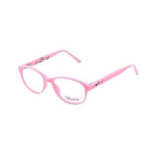 Óculos Infantil Disney Marie MR2 3550 C850 Rosa claro