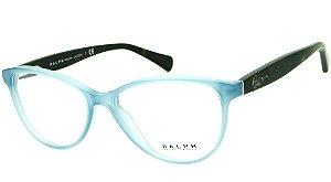 Óculos Feminino Ralph Lauren RA7061 1375 54 Azul e marrom