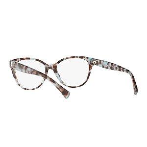 Óculos Feminino Ralph Lauren RA7103 1692 54 Azul e marrom marmorizado