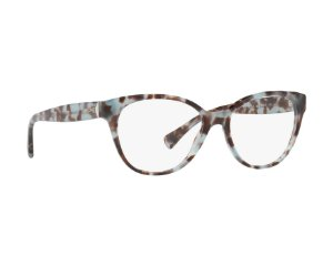 Óculos Feminino Ralph Lauren RA 7103 1692 54 Azul e Marrom Marmorizado