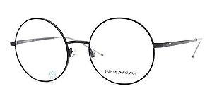 Óculos Emporio Armani EA 1092 3012 140 Metal  Preto