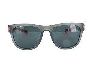 Óculos Solar Polaroid PLD 2065/S RIWM9 Cinza com Laranja