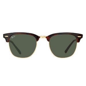 Óculos Solar Ray Ban Clubmaster RB 3016L W0366 Tartaruga