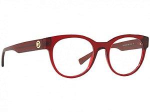 Óculos Versace 3268 388 Vermelho Translúcido