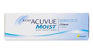 Lentes de contato 1 Day Acuvue Moist para Astigmatismo