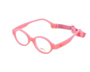 Óculos infantil Lookids 2324 Dobrável Rosa/Azul/Branco/Cinza
