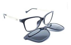 Óculos X-Treme com clip-on Jade T2520-vn c11 Preto brilhante