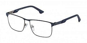 Óculos Police Storm 2 VPL 482 0K53 Azul