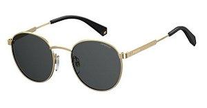 Óculos Solar Polaroid PLD 2053/S 2F7 51M9 Dourado