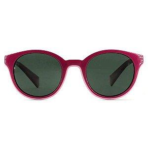 Óculos Solar Infantil Feminino Polaroid pld 8036/S MU1 M9 42 Rosa