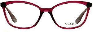Óculos Feminino Vogue vo 5279-l 2747 Roxo translúcido