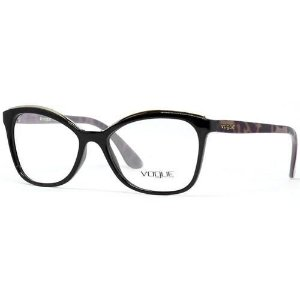 Óculos Feminino Vogue VO 5160L 2648 Preto com Marrom