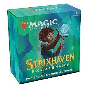 Magic - Kit Pré-Lançamento Strixhaven - Quandrix