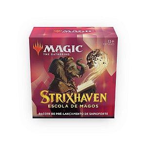Magic - Kit Pré-Lançamento Strixhaven - Sapioforte