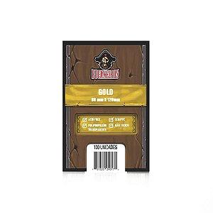 Sleeve - Bucaneiros GOLD 80x120mm