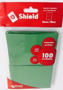 Sleeve - Central Shield PADRÃO 66x91mm - Verde