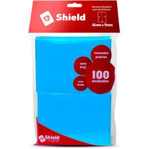 Sleeve - Central Shield PADRÃO 66x91mm - Azul