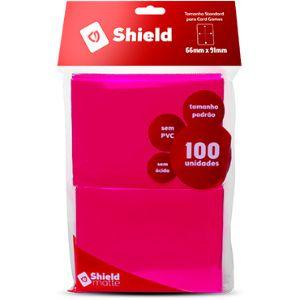 Sleeve - Central Shield PADRÃO 66x91mm - Pink