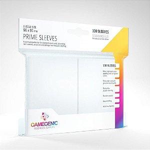 Sleeve - Gamegenic Prime 66x91mm - Branco
