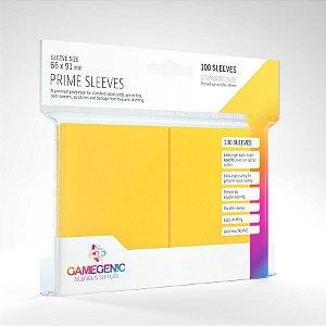 Sleeve - Gamegenic Prime 66x91mm - Amarelo