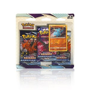 Pokémon - Triple Pack - Reinado Arrepiante (Phanpy)