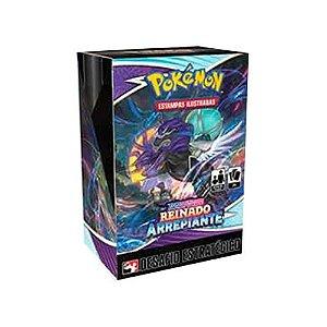 Pokémon - Kit Pré-Lançamento(Desafio Estratégico) - Reinado Arrepiante