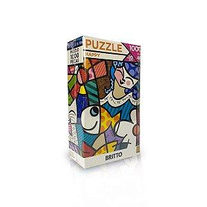 Quebra-Cabeça - Puzzle Happy - Romero Britto 1000pçs