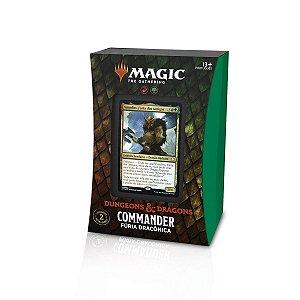 Magic - Dungeons & Dragons: Adventures In The Forgotten Realms - Commander: Fúria Dracônica