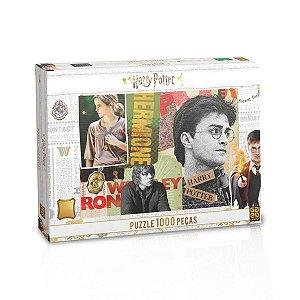 Quebra cabeça Cartonado Harry Potter 1008 peças