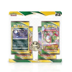 Blister de cartas de Pokémon Quádruplo - Espada e Escudo 7 - Céus em Evolução - Umbreon
