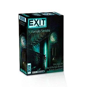 Exit: A Mansão Sinistra - Devir - Jogo De Dedução