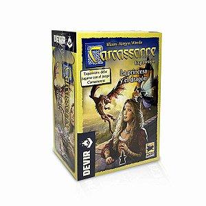 Carcassonne: A Princesa e o Dragão Expansão 2° Edição