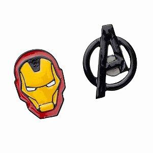 Kit de Pins Iron Man Vingadores