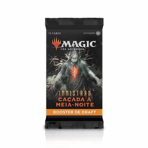 Booster Avulso Magic Innistrad Caçada da Meia noite (15 Cartas)