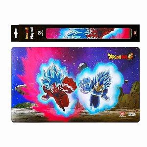 Tapete de Duelo - Playmat Dragon Ball Super Goku e Vegeta