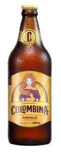 Cerveja Colombina Pilsen Puro Malte 600mL