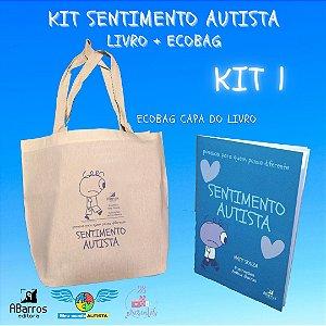 Kit Sentimento Autista: Ecobag + livro