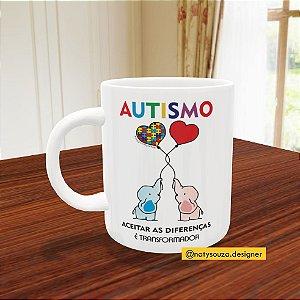 Caneca Infantil - Autismo (Diversos modelos)