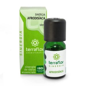 Sinergia Natural de Óleos Essenciais Afrodisíaca - Terra Flor -10 mL