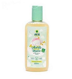 Sabonete Líquido e Shampoo Infantil - Verdi - 200 mL - 100% natural Espuma de Vapor com Óleo Essencial de Menta (Mentha Arvensis)