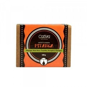 Sabonete Pitanga - Cativa Natureza - 100 g
